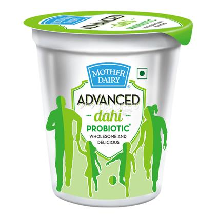 MOTHER DAIRY PROBITIC CURD 400g CUP