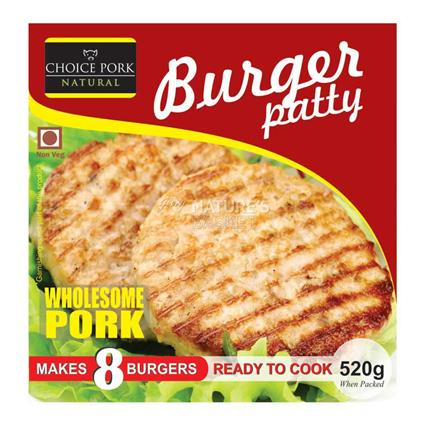 Burger Patty - Choice Pork Natural