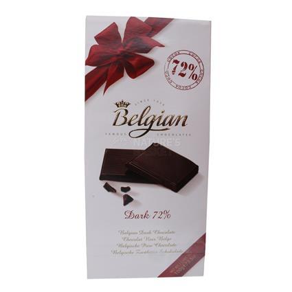 Dark Chocolate  -  72% - Belgian