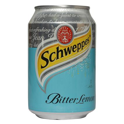 Bitter Lemon Carbonated Drink - Schweppes