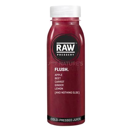 Cold Pressed Juice  -  Flush - Raw Pressery