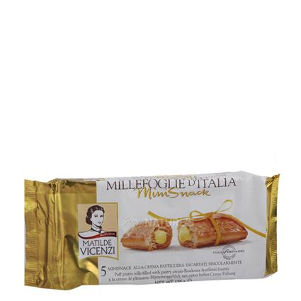 Mini Snack Filled W/ Pastry Cream - Millefoglie Ditalia