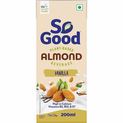 So Good Almond Milk Vanilla Flavour 200 Ml