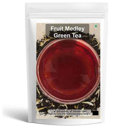 FRUIT MEDLY GRN LEAF TEA - FABBOX
