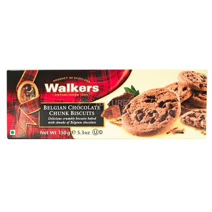 Belgium Chocolate Chunk Biscuit - Walkers