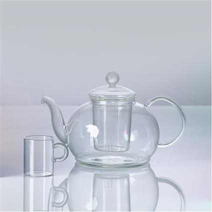 TEA CULTURE GLASS ART TEA POT STYLE 2