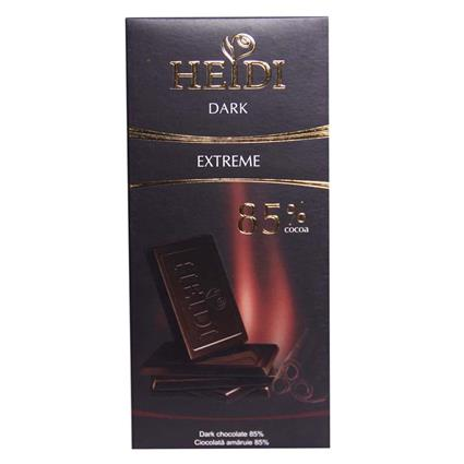 Extreme Dark Chocolate  -  85% - Heidi