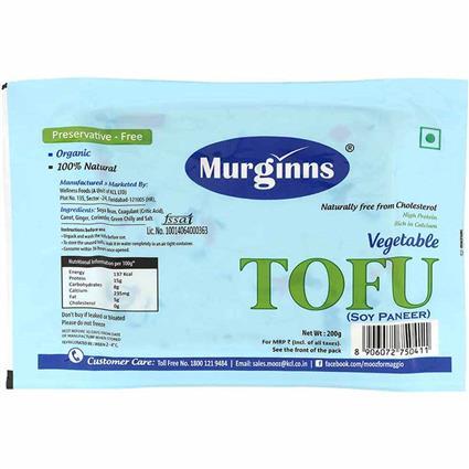 MURGINNS VEGETABLE TOFU 200G