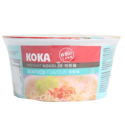 Instant Bowl Noodles  -  Seafood - Koka