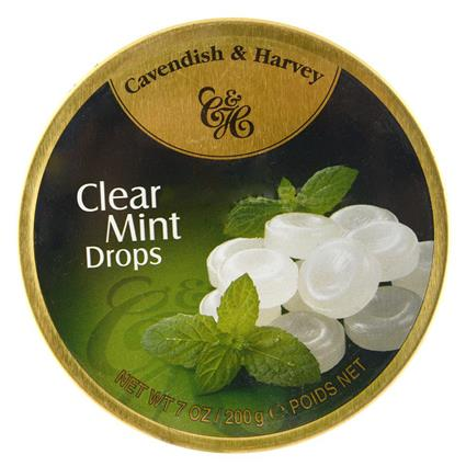 Clear Mint Drops - Cavendish & Harvey