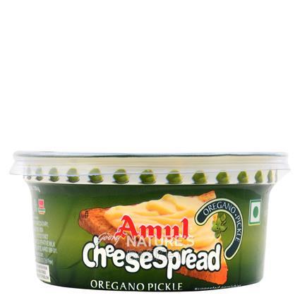 Cheese Spread - Oregano Pickle - Amul