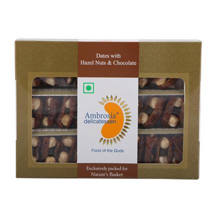Dates W/ Hazel Nuts & Chocolate - Ambrosia