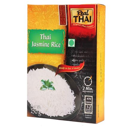 REAL THAI JASMINE RICE 250G