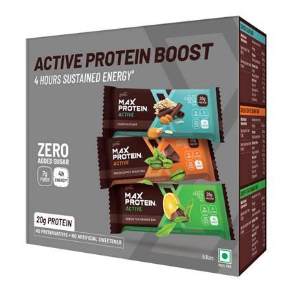Max Protein Choco Fudge Bar  -  Pack Of 6 - Ritebite