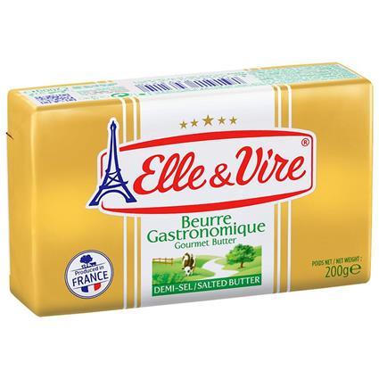 Elle&Vire Salted Butter 200G