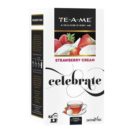 TEAME STRAWBERRY CREAM 25S