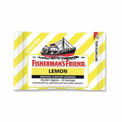 FISHERMANS FRIEND LEMON LOZENGES 25g