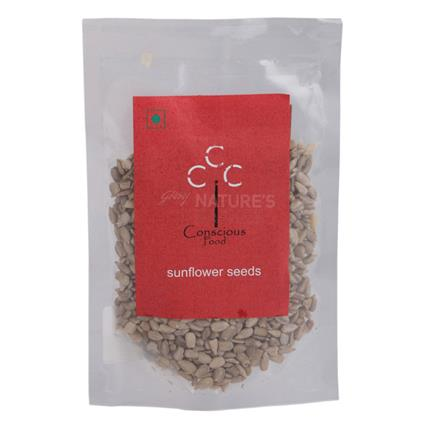 CONSCIOUS FOOD SUNFLOWER SEEDS 50G