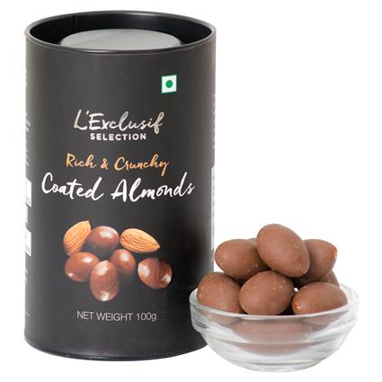L EXCLUSIF COATED ALMOND 100G