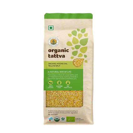 Moong Dal Yellow Spli Organic - Organic Tattva