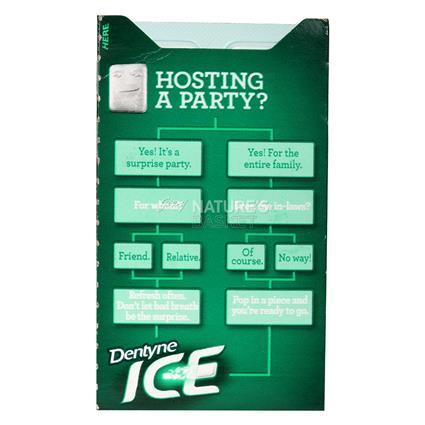 DENTYNE ICE SPEARMINT SUGARFREEGUM 16PC
