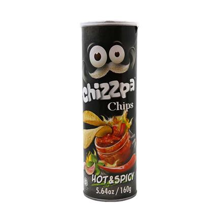 CHIZZPA POTATO CRISP HOT & SPICY 160G