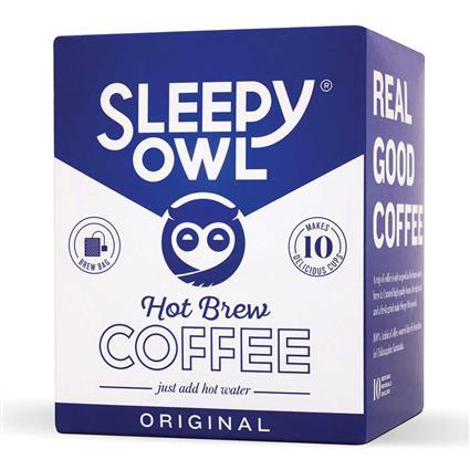 SLEEPY OWL ORIGINAL BREWPACKS BOX 10 PC