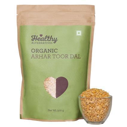 Organic Arhar Toor Dal - Healthy Alternatives