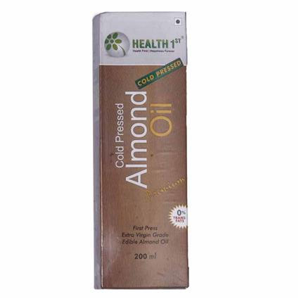 Cold Pressed Almond Oil - Health 1St
