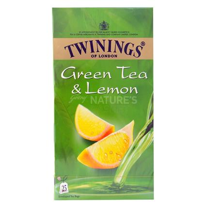 Lemon Green Tea  -  25 Tea Bags - Twinings