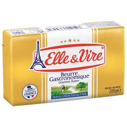 Elle&Vire unsalted butter 200g