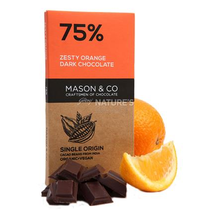 Zesty Orange Dark Chocolate - Mason