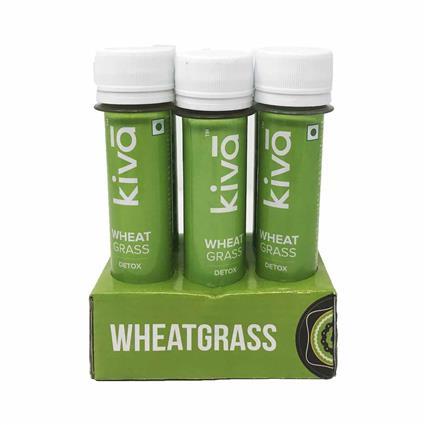 Wheat Grass Shot - Kiva