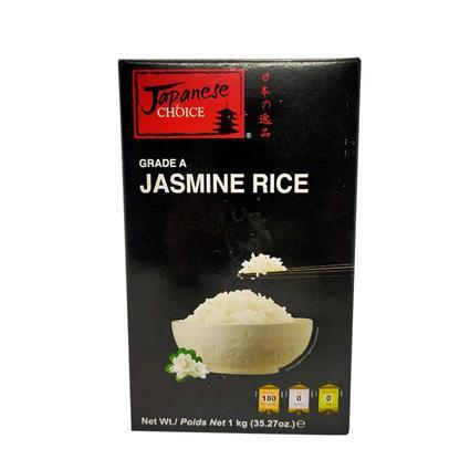 JAPANESE CHOICE JASMIN UNCOOKED RICE 1Kg