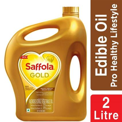 SAFFOLA GOLD OIL JAR 2Ltr