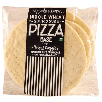 Whole Wheat Pizza Base 7 - The Baker's Dozen