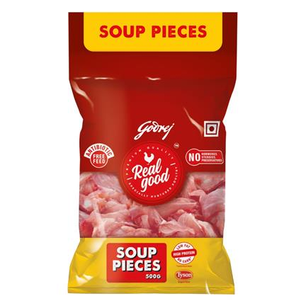 REAL GOOD CHICKEN SOUP PC 500G