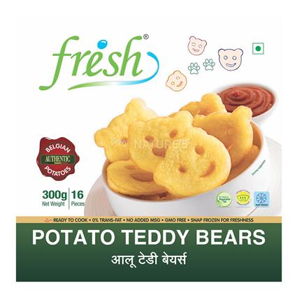 Potato Teddy Bears - Frish