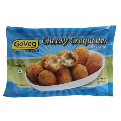 Cheese Croquettes  -  12Pcs - Goveg