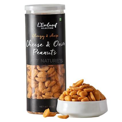 Flavoured Peanuts  -  Classic Cheese N Onion - L'exclusif