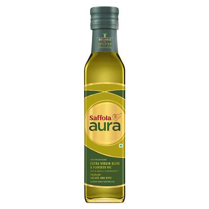 Extra Virgin Olive & Flaxseed Oil - Saffola Aura