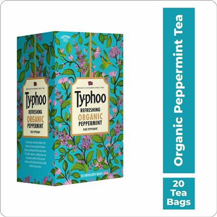 TYPHOO PURE PEPPERMINT ORGANIC INFUSION