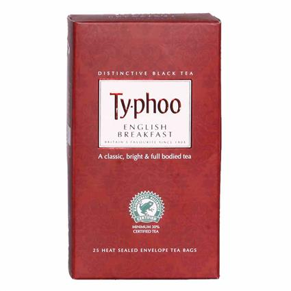 TY-PHOO ENG BREAKFAST 25S TEA BAG BOX