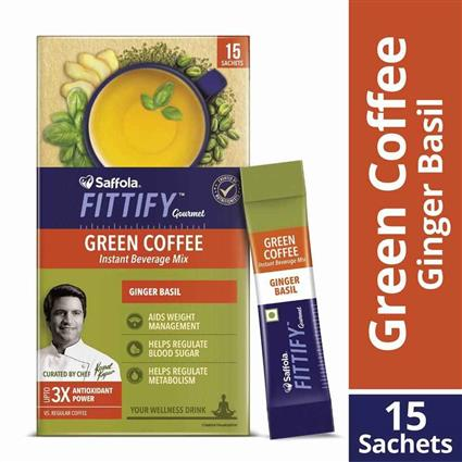 FITTIFY GREEN COFFEE GINGER BASIL 30 GM