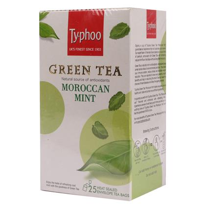 TY-PHOO  MINT 25's GRN TEA BAG BOX