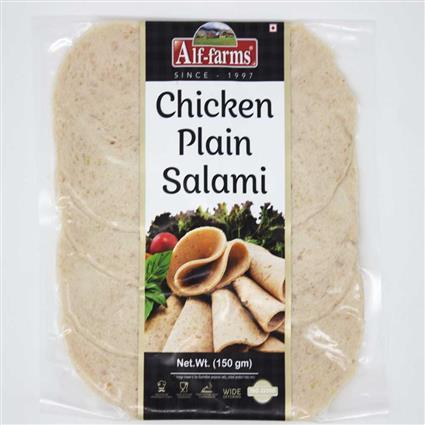 ALF FARMS CHICKEN PLAIN SALAMI 150 G