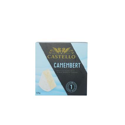 CASTELLO CAMEMBERT CHEESE 125G