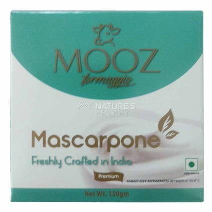 MOOZ MASCARPONE CREAM CHEESE 150g