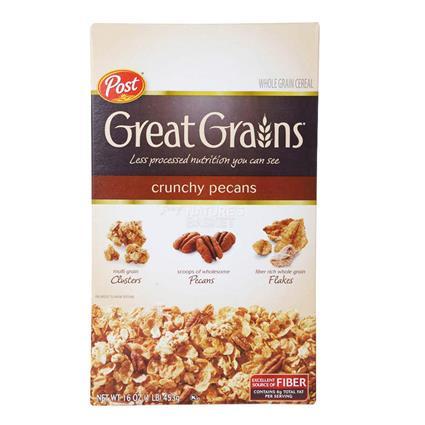 POST GREAT GRAINS CRUNCHY PECAN 453G