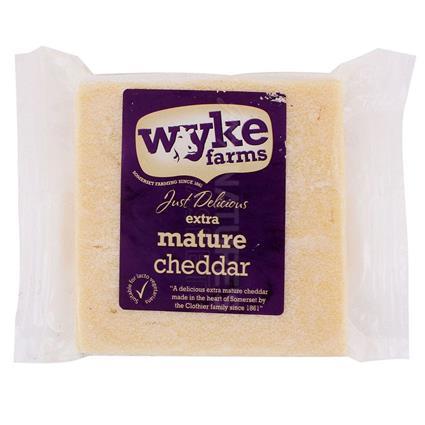 Just Delicious Extra Mature Cheddar - Wyke Farm